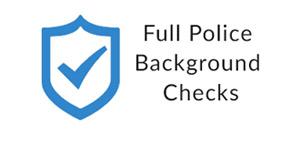 Full Locksmith Background Checks
