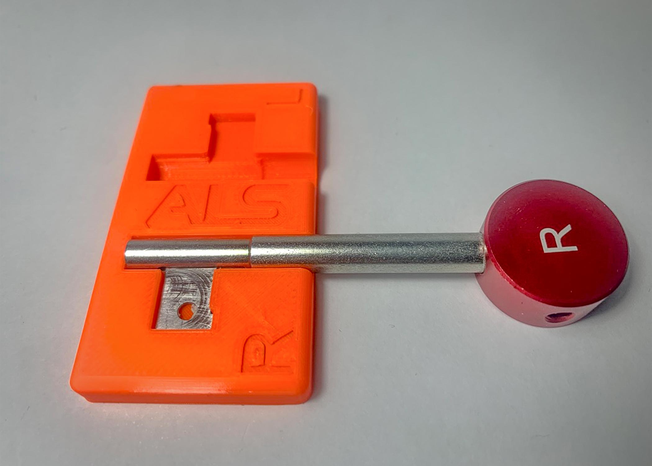 Staddon Turner Chubb 114 Pick Key Jig
